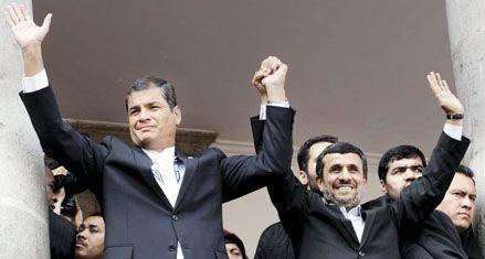 El iraní Ahmadineyad terminó su gira latinoamericana en Ecuador