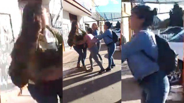 Una docente resultó golpeada al interceder en una pelea entre jóvenes