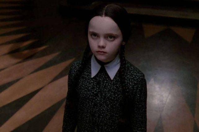 Christina Ricci fue Merlina en el cine en los años 90.