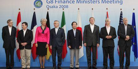 El G8 expresa fuertes preocupaciones por alzas del precio del crudo