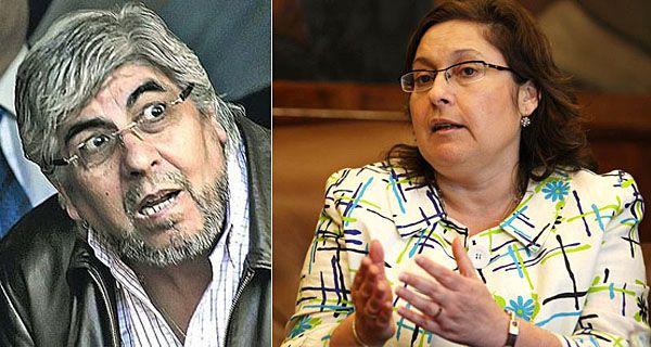 Moyano pidió custodia policial para Ocaña por supuestas amenazas del líder de la CGT