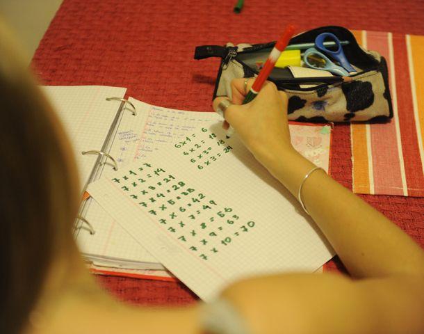 Primero hay que saber de qué se trata la multiplicación y luego sí hay que saber las tablas