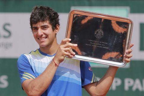 El tenista de 17 años