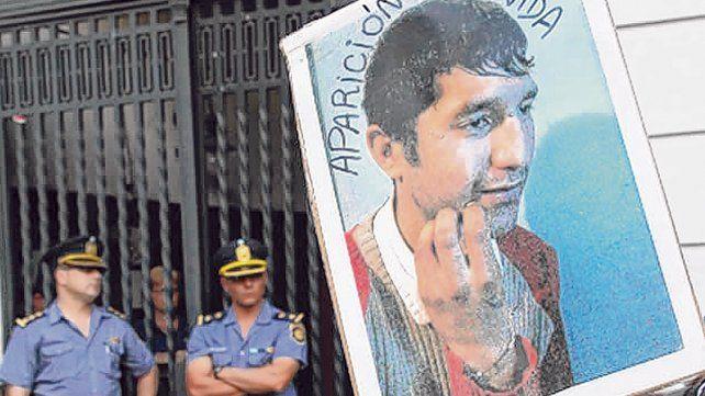 La imagen de Franco Casco en la comisaría 7ª