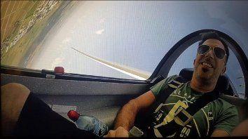 El piloto que murió al caerse la avioneta es un exintegrante del grupo Dios Salve a la Reina