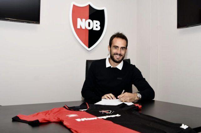 Gentiletti firmó y mañana se suma al plantel de Newells