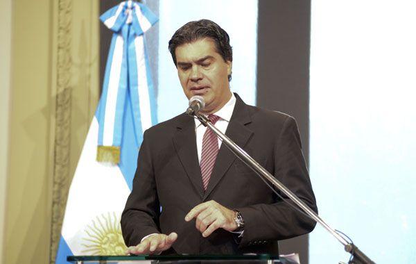 Capitanich se bajó de la carrera presidencial para 2015.