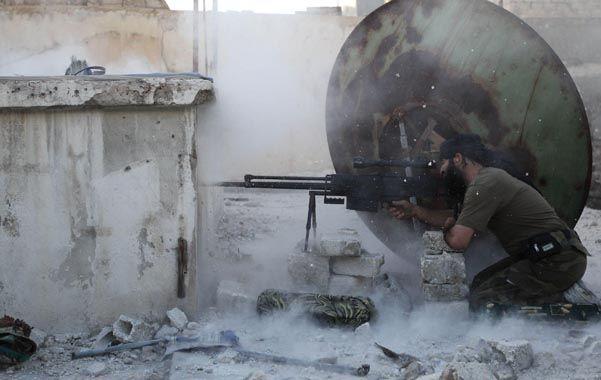 Lucha sin control. La guerra civil siria ya lleva dos años y ha causado al menos unos 70 mil muertos