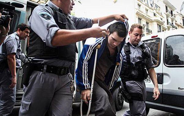 Al límite. Lucas Azcona dejó una misiva en la cárcel de Ezeiza.