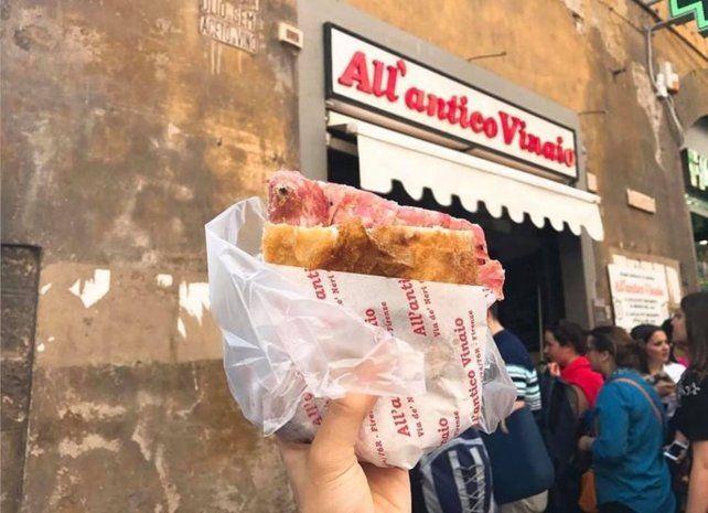Polémica en Italia por la propuesta de un impuesto al sandwich en las ciudades turísticas