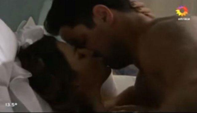 Marcela Kloosterboer y Luciano Castro protagonizaron otra escena caliente en Las Estrellas