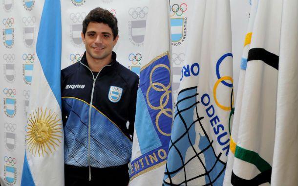 Orgullo. Molinari representará a la delegación argentina en los Juegos Odesur.
