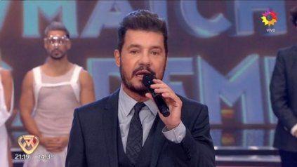 Marcelo Tienlli le dedico la emisión de este jueves de ShowMatch a su ex Soledad Aquino.
