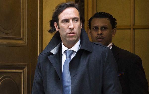 Presentación. El ministro Lorenzino sale de los tribunales neoyorquinos