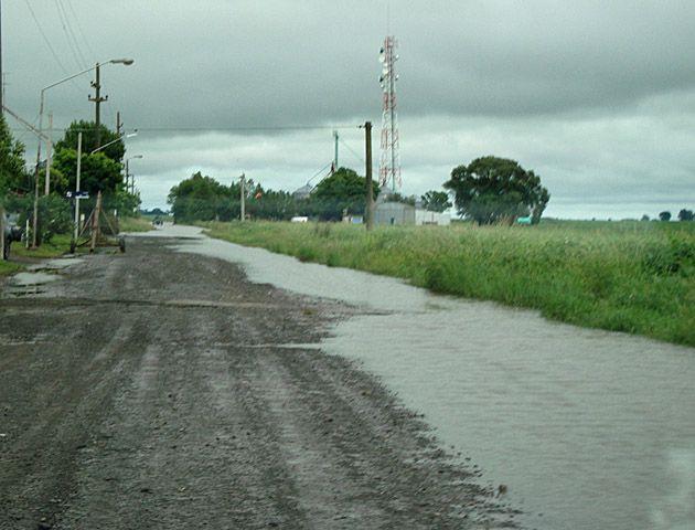 Rosario se encuentra bajo alerta meteorológico. (Foto de archivo).-