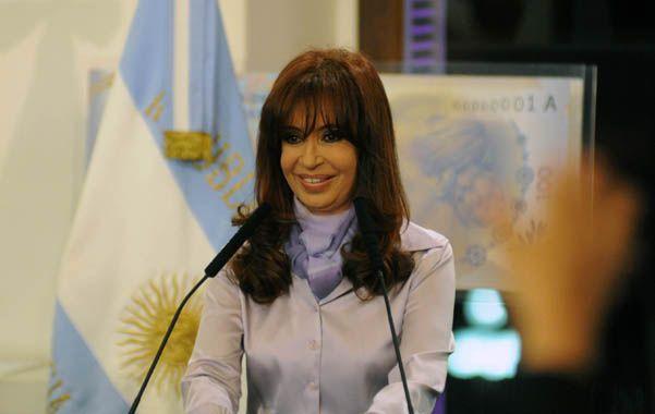 "Amenazas. La presidenta Cristina Fernández advirtió: ""Si me pasa algo"