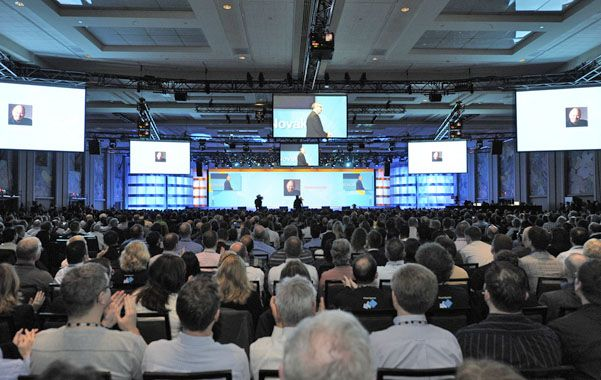 El Connect 2013 contó con la participación de más de 3 mil asistentes de todo el mundo.