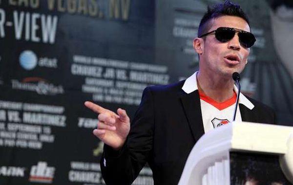 El boxeador argentino