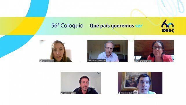 La presentación del Colquio de Idea se realizó de forma virtual.