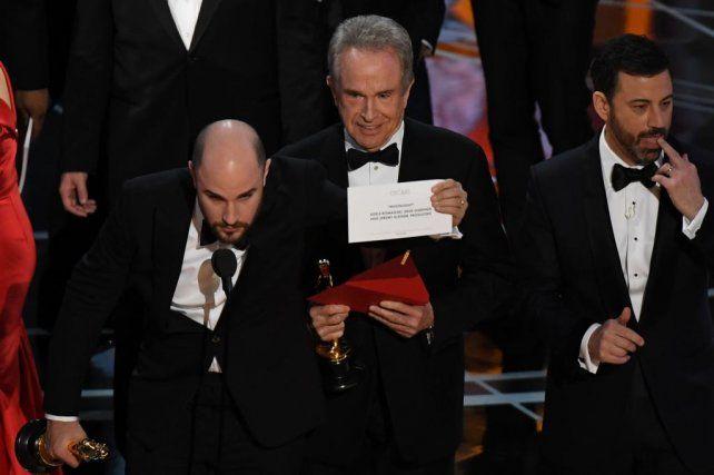 La muestra de que Luz de Luna era en realidad el ganador del premio a Mejor Película.