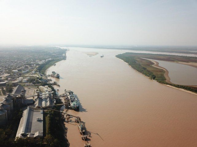 Rosario y el Paraná