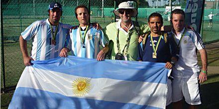 Nuevas medallas para la Argentina en el mundial de deportistas trasplantados
