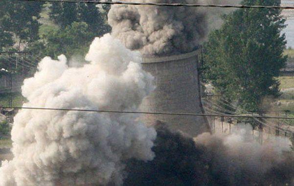 Demolido. En 2007 Norcorea desactivó el reactor de Yongbyon.