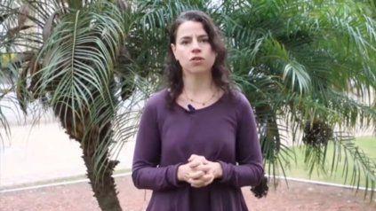 Marianela De Emilio, ingeniera agrónoma de Inta Las Rosas.