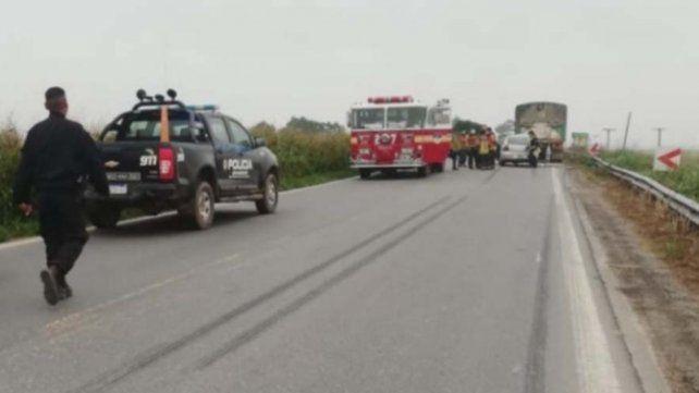 El accidente se registró esta mañana a las 6.30 en la ruta 91.