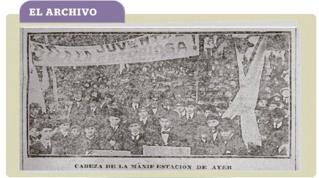 El archivo: cuando Rosario marchó por la gesta universitaria de Córdoba