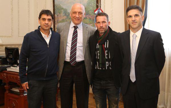 Bonfatti se reunió en Ricobelli