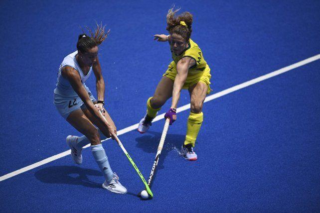 El seleccionado argentino femenino de hockey sobre césped perdió con Australia por 2 a 0.