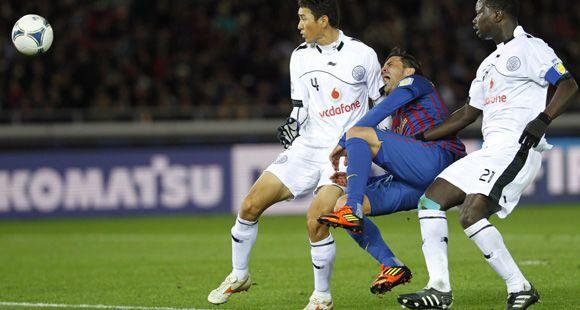 Mundial de Clubes: Barcelona jugará la final con Santos pero sufrió la lesión de Villa