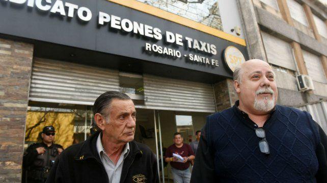 Yannotto quedó formalmente al frente del Sindicato de Peones de Taxis