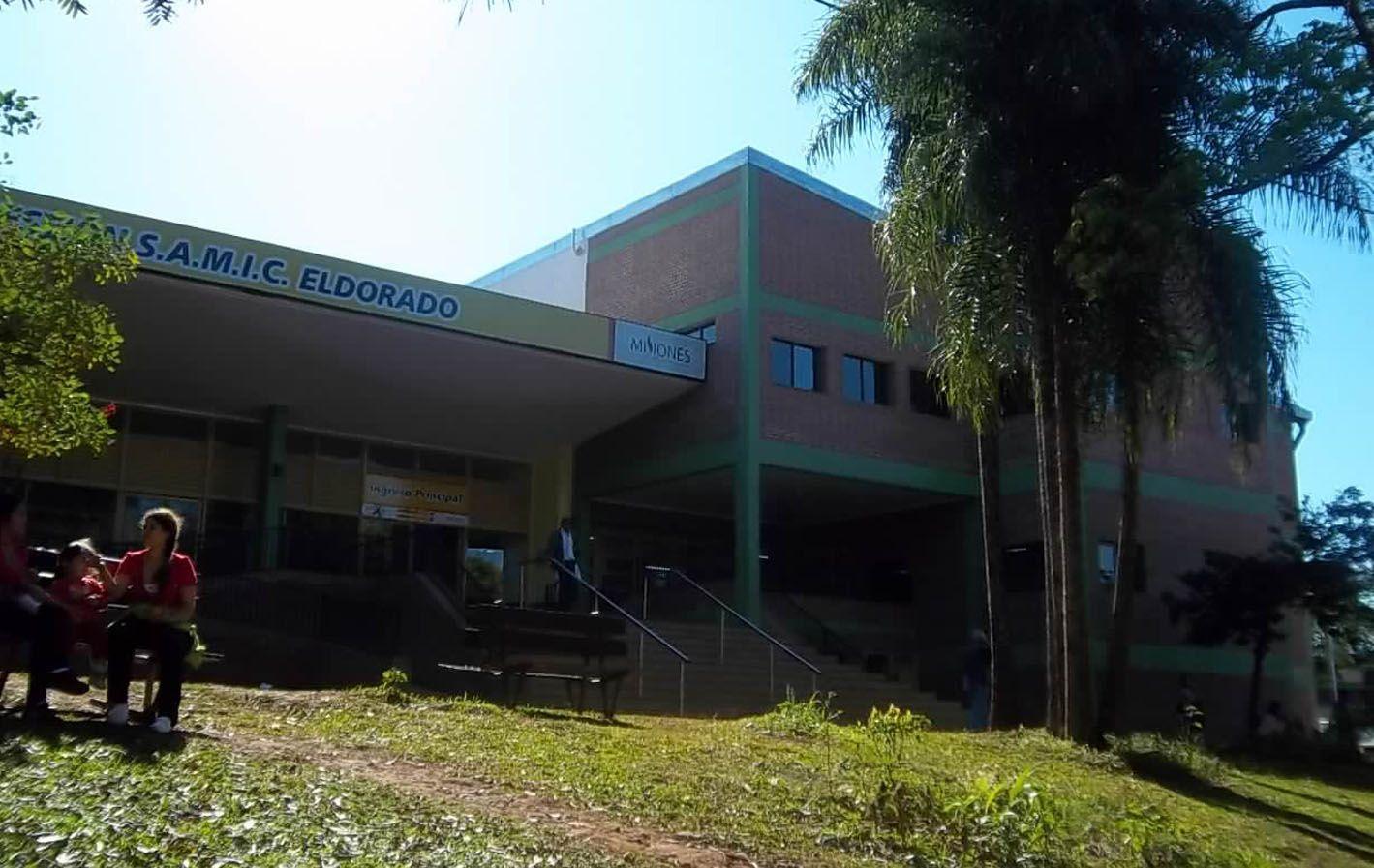 Hospital Samic de Eldorado. La niña madre fue sometida a una cesárea el lunes