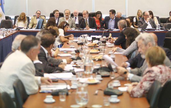 Deliberaron las comisiones de Presupuesto y Finanzas. (NA)