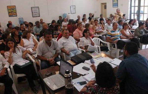 Mañana los delegados locales se pliegan a la movilización que se realizará en Santa Fe.