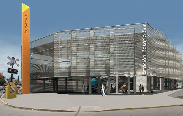 Lo que viene. Maqueta digital de la futura estación de trenes. Tendrá dos plantas y se remodelará todo el entorno.