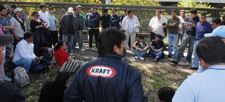 Optimismo por una reunión clave para destrabar el conflicto de Kraft