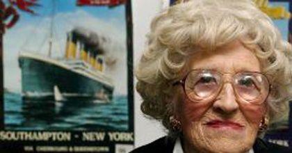 A los 97 años, murió la última sobreviviente del hundimiento del Titanic