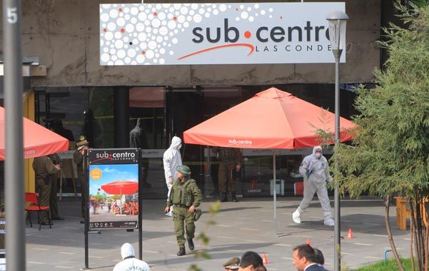 Repudio. El ataque explosivo se da en la antesala de un nuevo aniversario del golpe del 11 de septiembre de 1973.