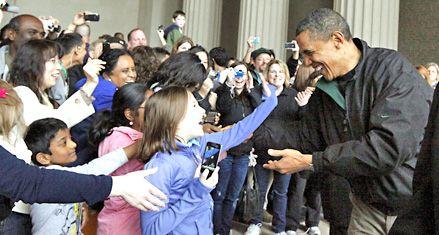 La muerte de Bin Laden dispara los índices de popularidad de Obama