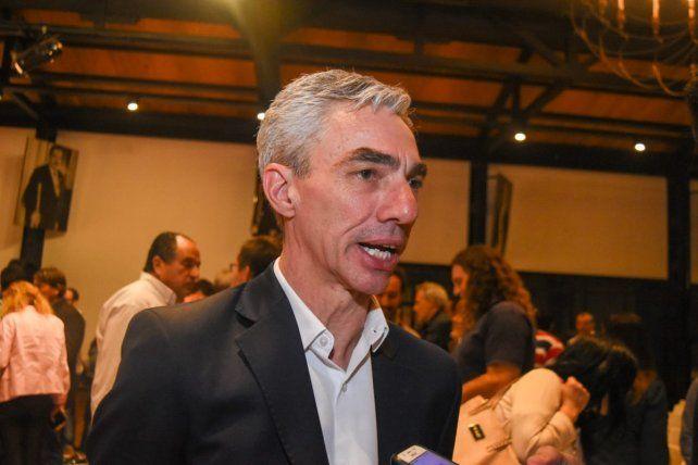 Mario Meoni. El ministro de Transporte de la Nación.