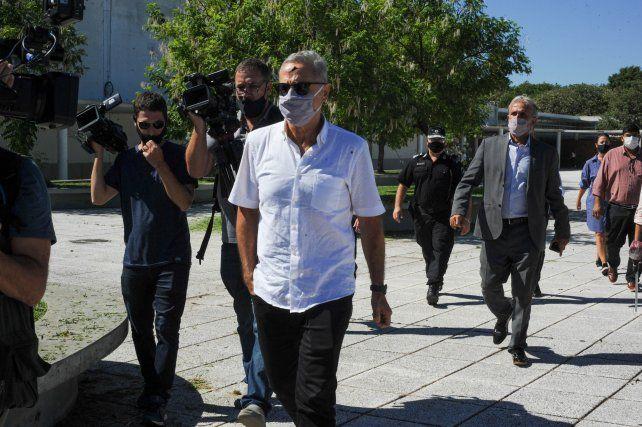 El ministro de Seguridad Marcelo Sain.