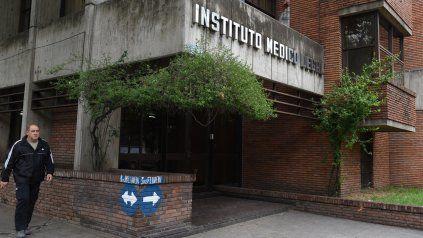 Instituto Médico Legal. El cuerpo de la víctima fue derivado allí para la realización de una autopsia.