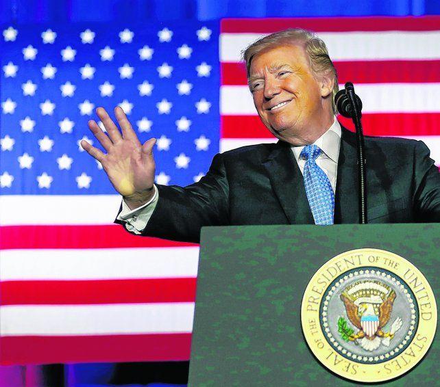 Proyecto. Trump aseguró que la mayor ganadora será la clase media.