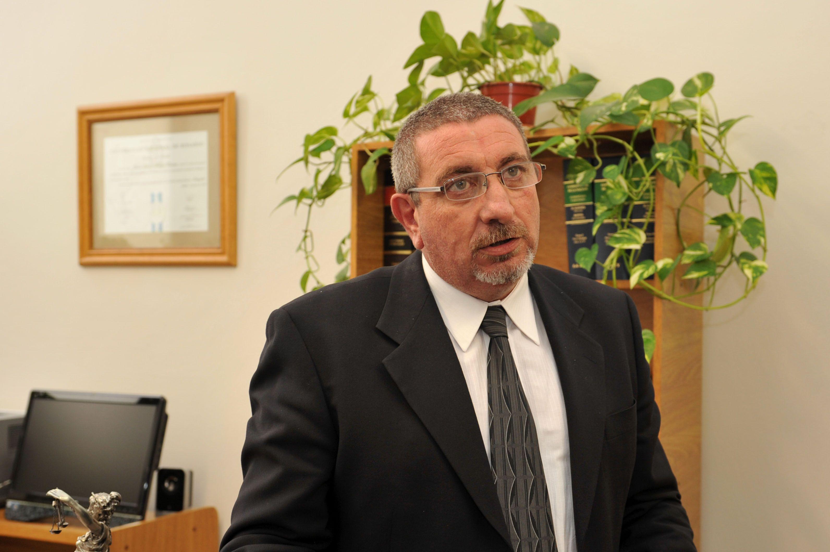 El juez Juan Carlos Vienna presidió la audiencia imputativa.