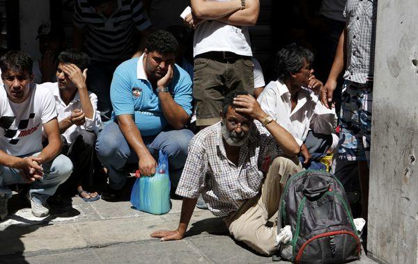 La policía detuvo esta semana en varios operativos a 6.000 inmigrantes. Del total
