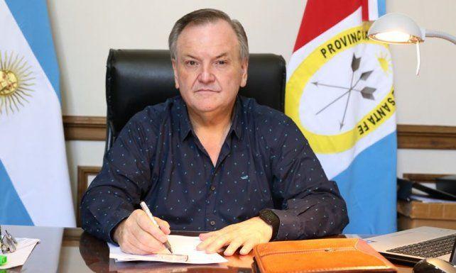 El senador Felipe Michlig.