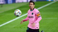 Messi vuelve tras dos fechas de suspensión por haber sido expulsado en la final de la Supercopa de España.